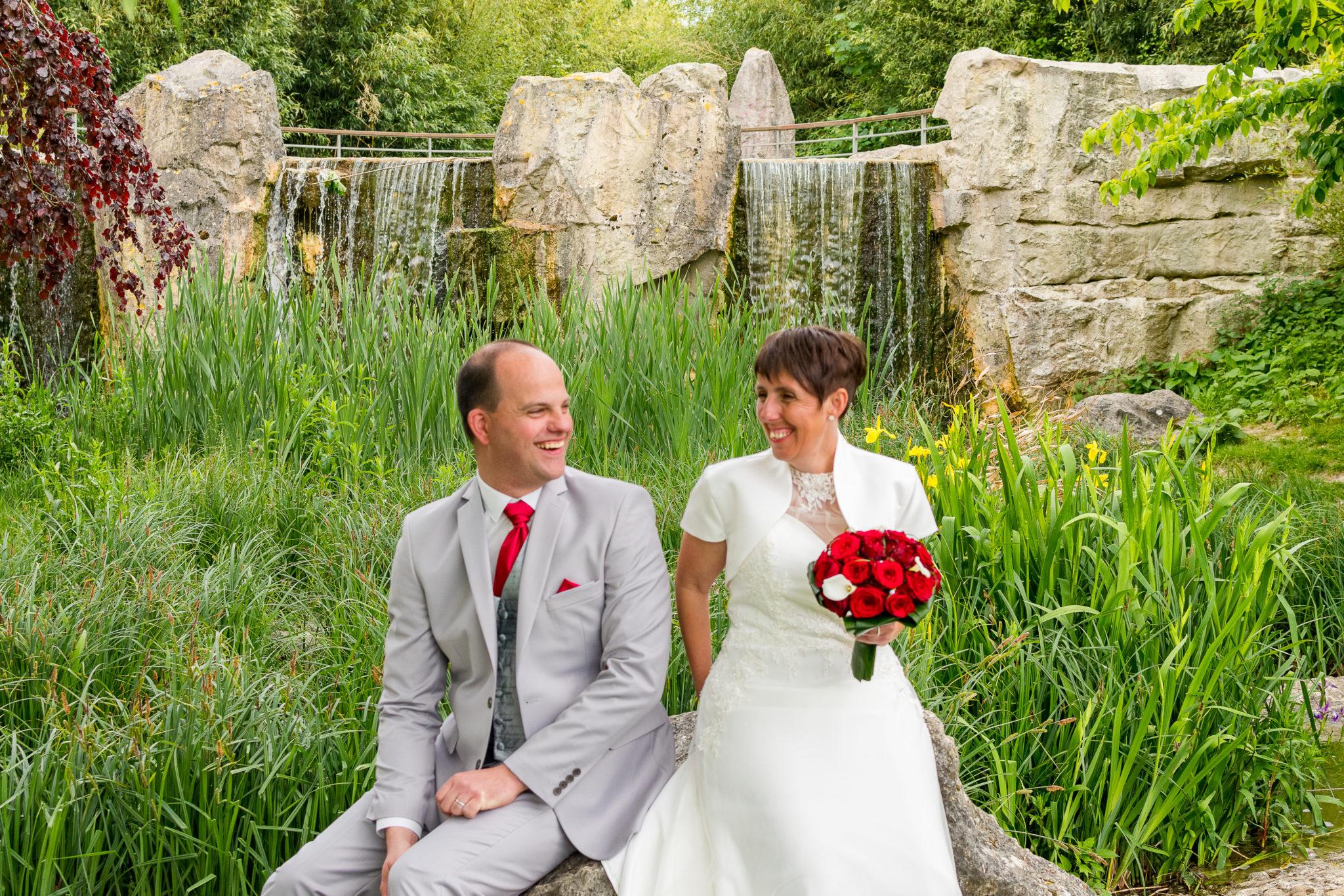 shooting mariage des mariès au parc de Dainville