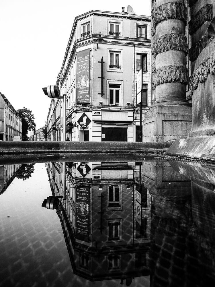 le pont de Cité et sa fontaine de Neptune