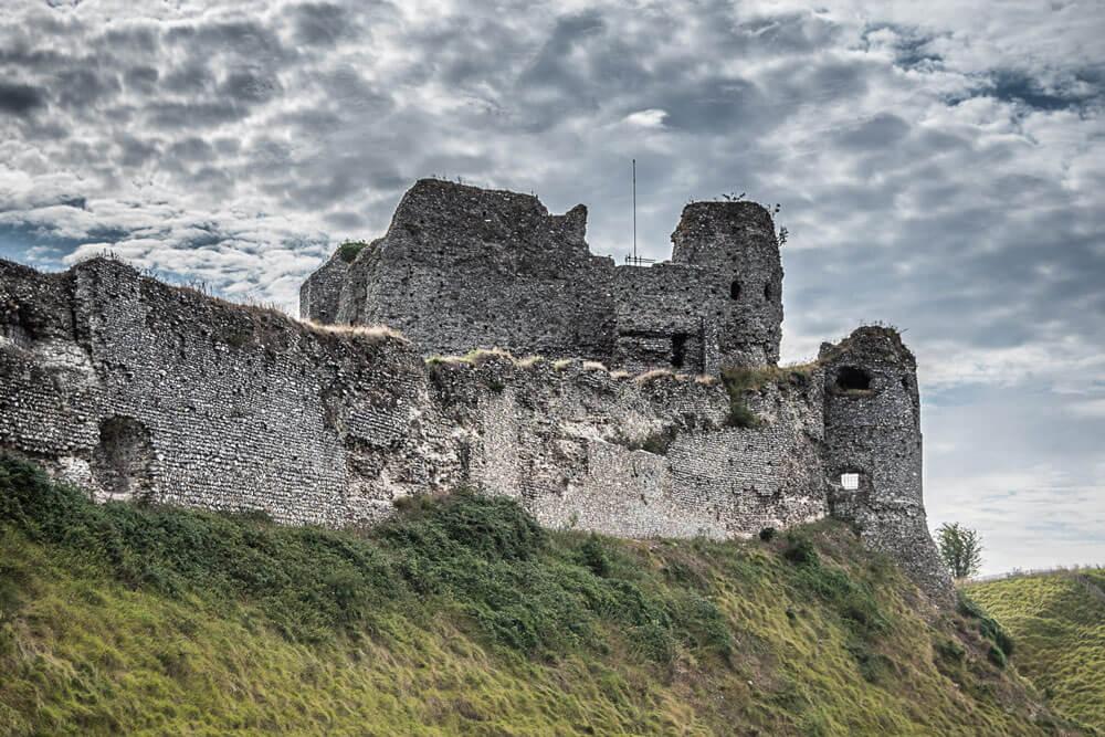 Le château d'Arques la bataille