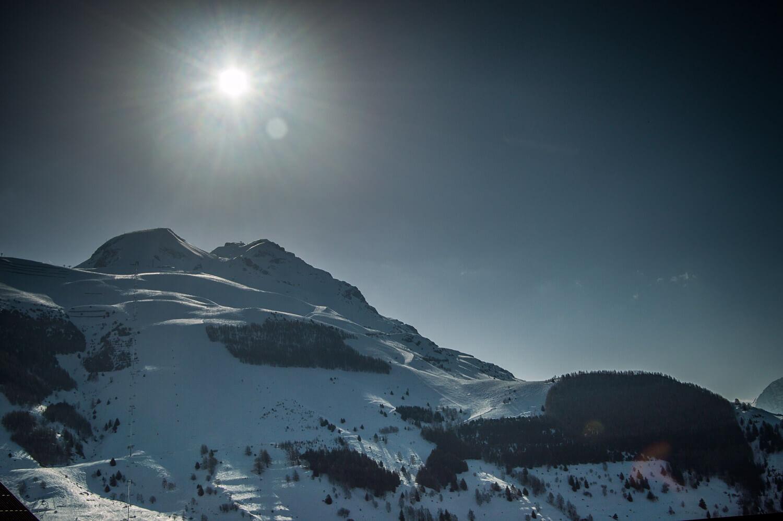 un matin au Deux Alpes