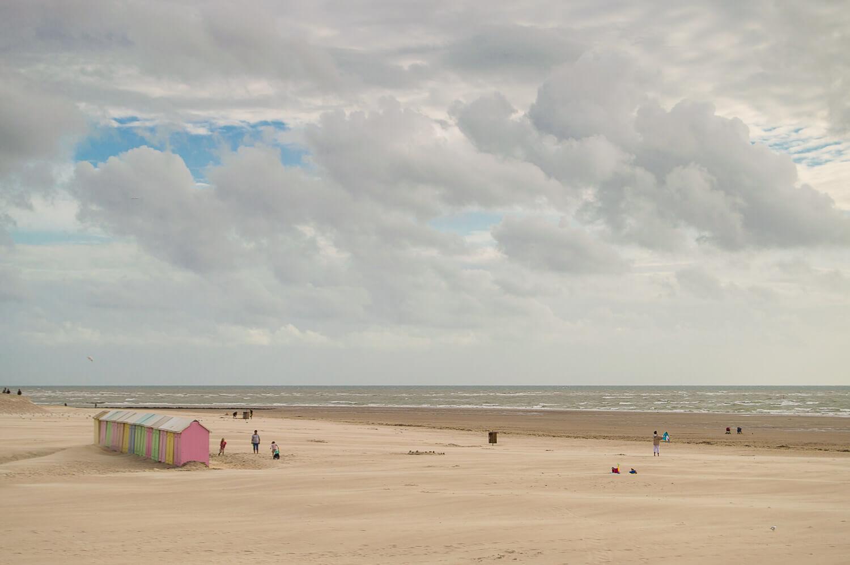 Berck, ses cabines, sa plage