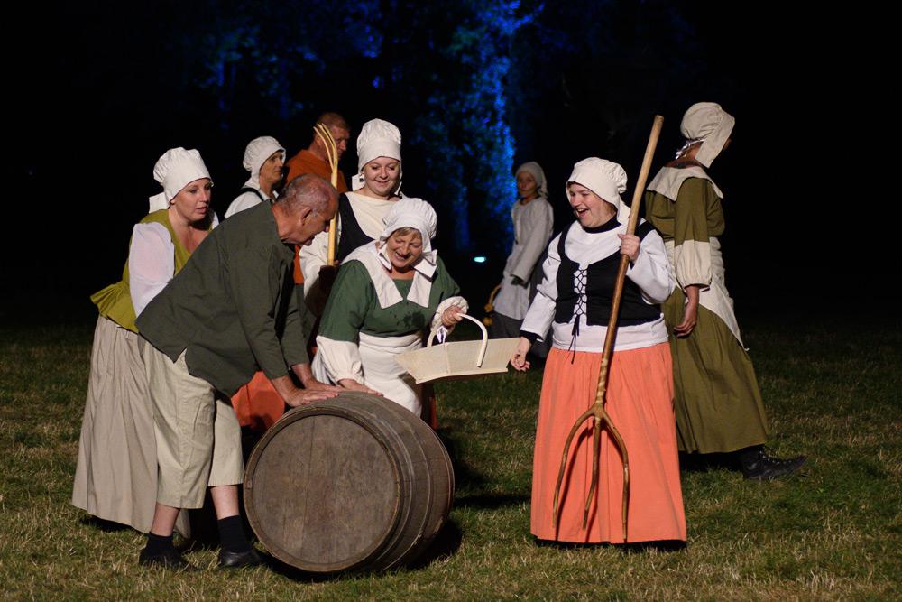 la fête des paysans, rêves et histoires d'Artois à Saint Laurent Blangy