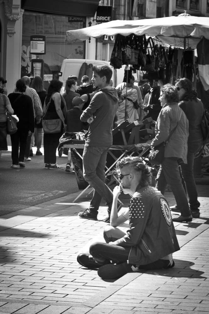 street photographie dans les rues d'Arras