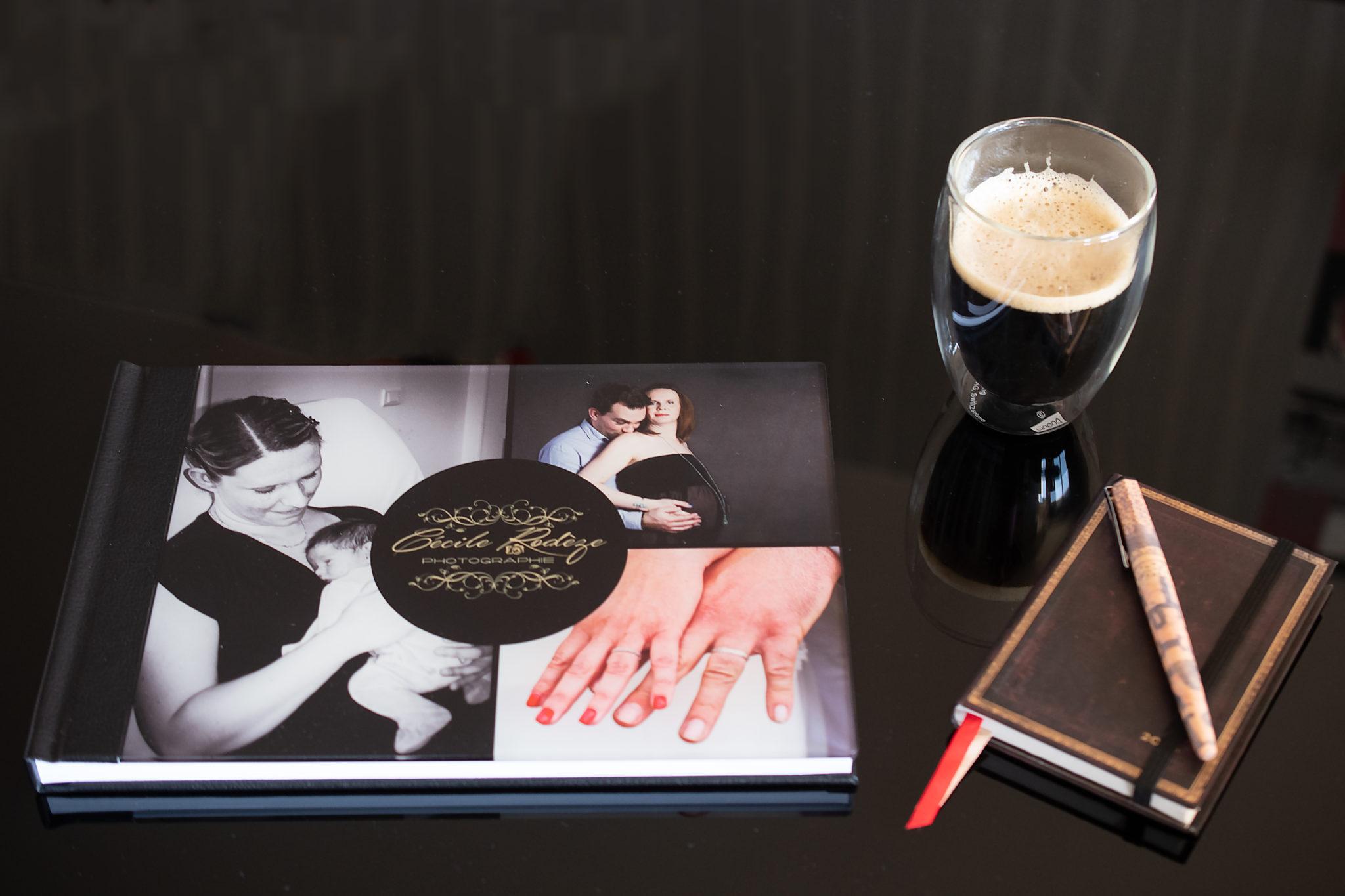 vue d'ensemble du livre photo luxe