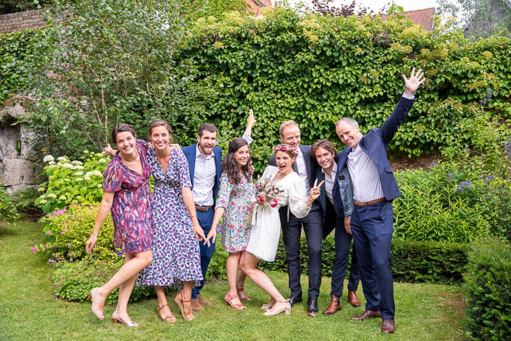 photographe mariage arras, c'est la fête entre amis
