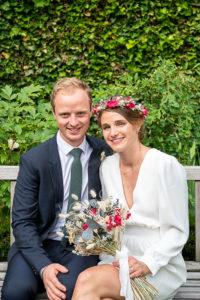 photographe mariage arras, la photo de couple des jeunes mariés