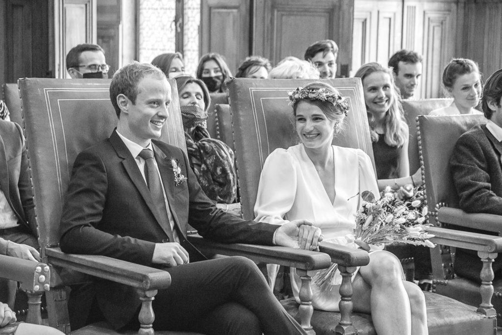 photographe mariage, la cérémonie à la mairie